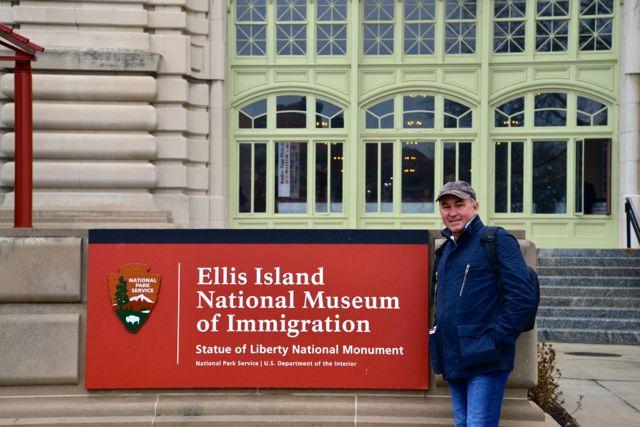 O Museu da Imigração.