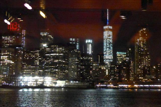 A vista de Manhattan a partir do The River Café