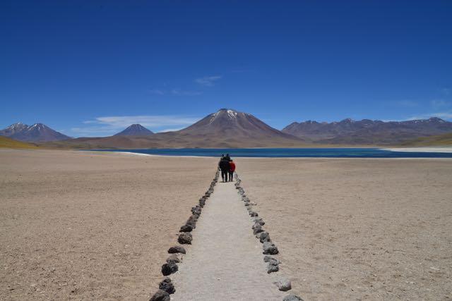 O Deserto do Atacama é uma das principais atrações do Chile.