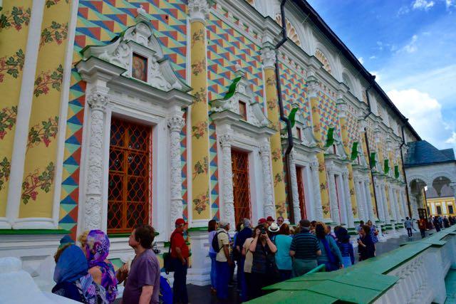 O refeitório da Igreja de São Sérgio