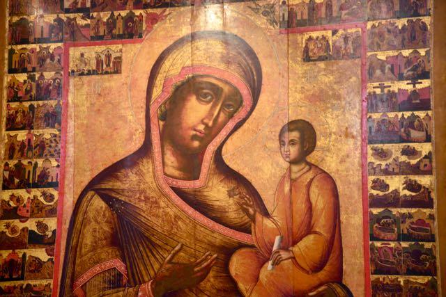 Os ícones da Igreja Ortodoxa contam histórias bíblicas