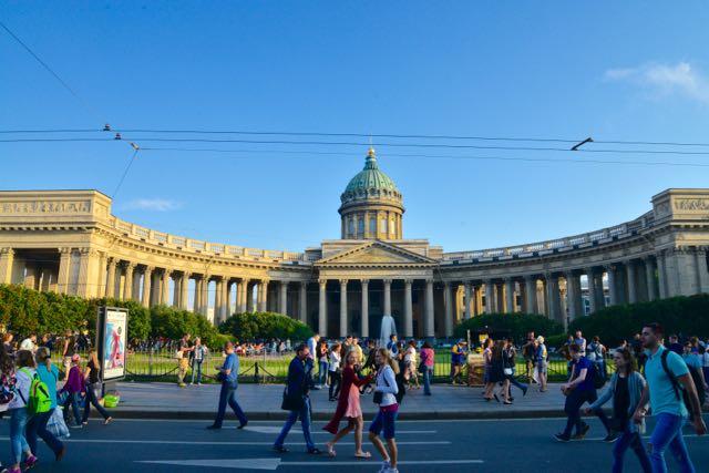 A Catedral da Virgem de Kazan.