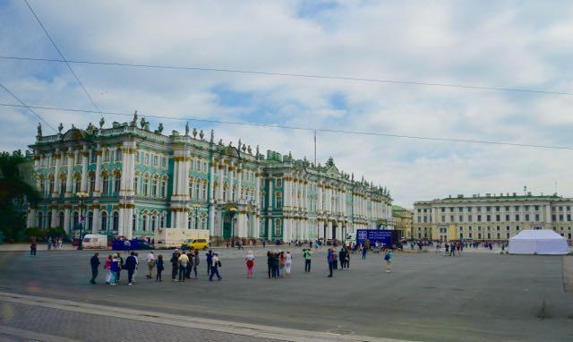 A Praça do Palácio