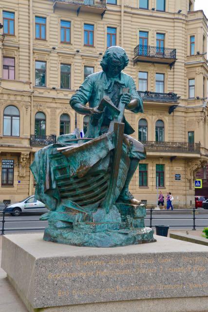 A estátua de Pedro o Trabalhador