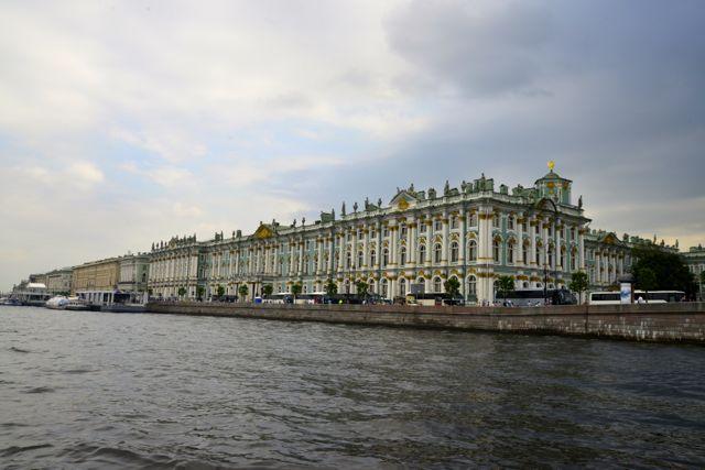 O maravilhoso Palácio de Inverno.