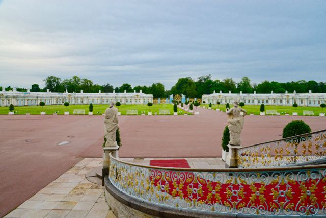 As estruturas do Palácio funcionaram como quartel-general para os nazistas.