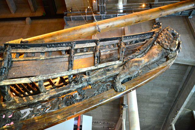 O casco do barco encontrava-se incrivelmente conservado.