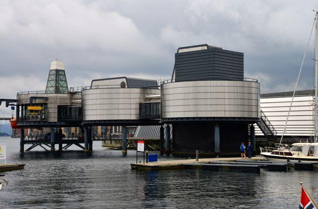 Museu do Petróleo em Stavanger, na Noruega