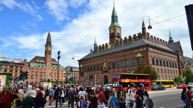 Passeio panorâmico por Copenhague