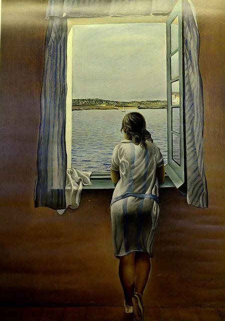 Mulher na Janela de Salvador Dalí.