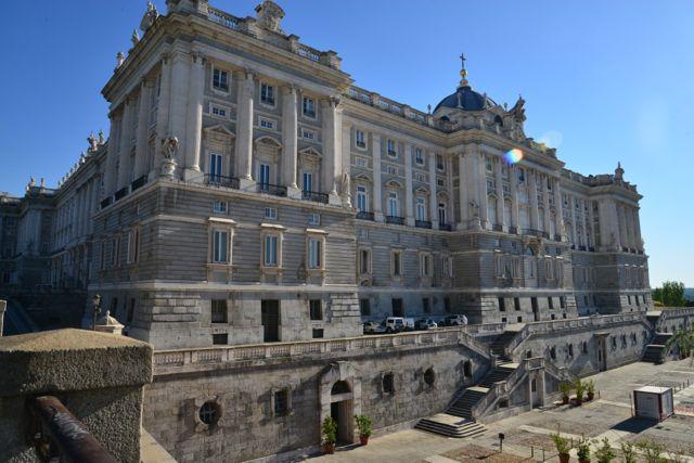 O Palácio Real de Madri.