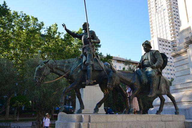 D. Quixote e Sancho Pança