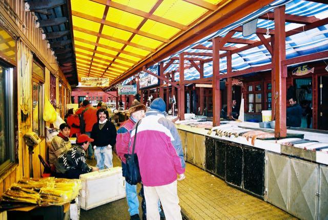 O Mercado de Peixes de Angelmó