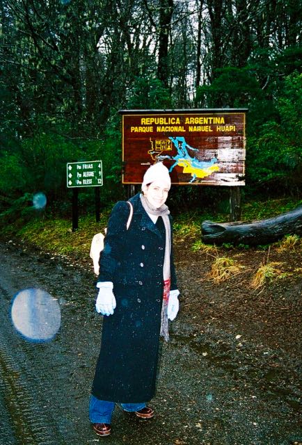 Chegando ao Parque Nacional Nahuel Huapi