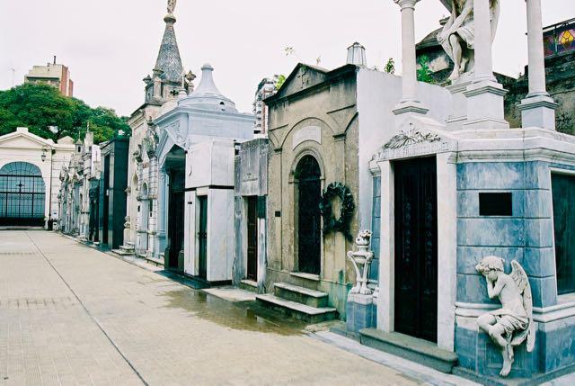 Detalhe do Cemitério da Recoleta.