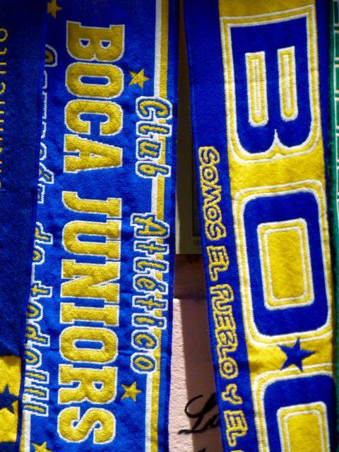 A paixão pelo Boca Juniors está em toda parte.