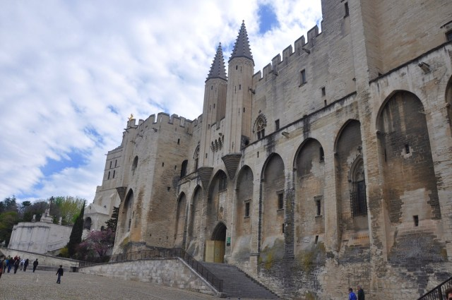 O Castelo de Avignon
