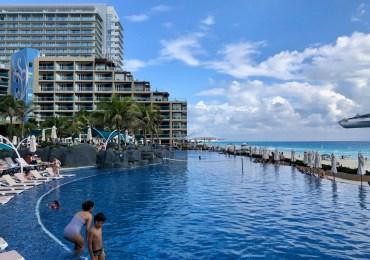 Tempestade em Cancun