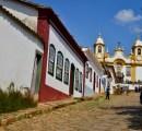 A cidade de Tiradentes