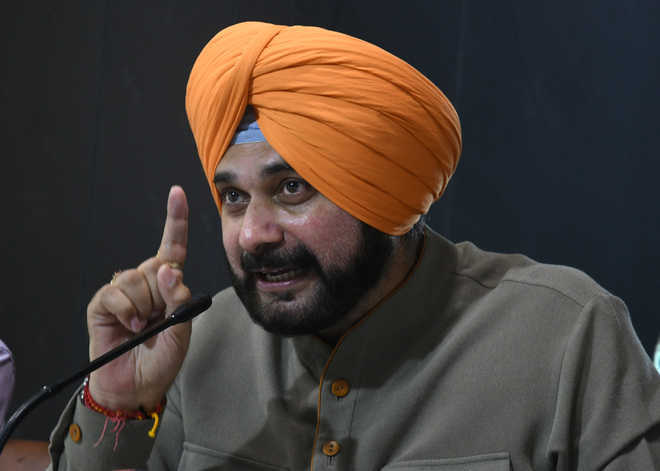 CM alone can order arrest of guilty, says Navjot Sidhu