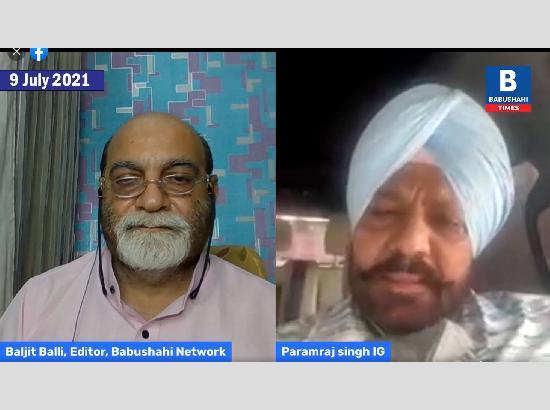IG Umranangal Statement To The Media on Kunwar Vijay Pratap