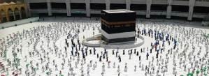 Jamaah Haji 2020 Mulai Pulang Usai Jalani Tawaf Wada' di Mekkah