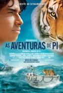 """As Aventuras de Pi"" - poster Brasil"
