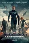 Capitão America 2: O Soldado Invernal - poster brasileiro