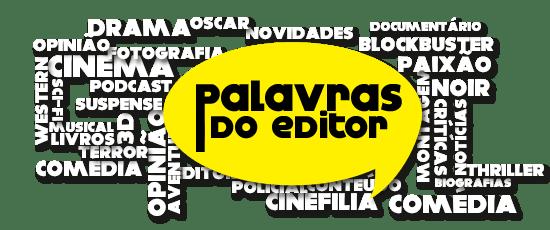 palavras do editor