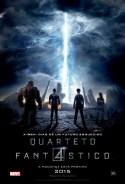 Quarteto Fantástico (2015)    Pôster brasileiro