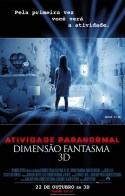 Atividade Paranormal: Dimensão Fantasma | Pôster Brasil