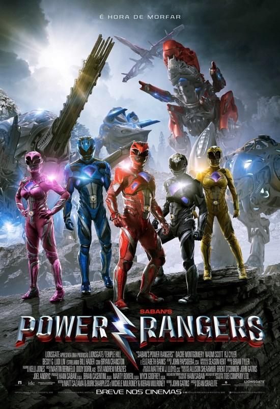 Power Rangers | Cartaz brasileiro