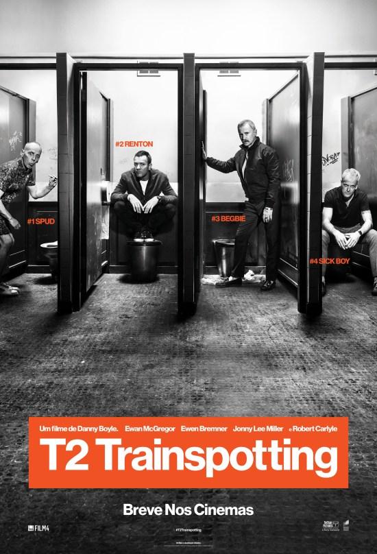 T2 Trainspotting | Cartaz brasileiro