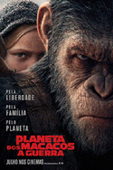 Planeta dos Macacos: A Guerra | Crítica | War for the Planet of the Apes, 2017, EUA