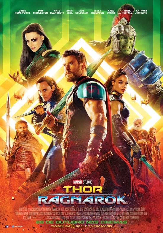 Thor: Ragnarok   Pôster brasileiro