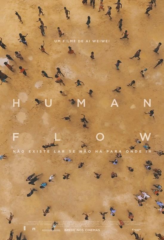 Human Flow   Cartaz nacional