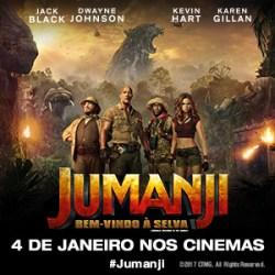 Jumanji: Bem-Vindo à Selva | Hoje nos cinemas