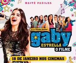 Gaby Estrella: O Filme | Hoje nos cinemas