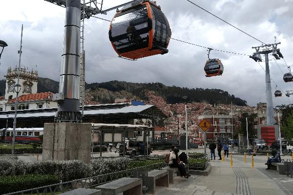 Teleféricos de La Paz