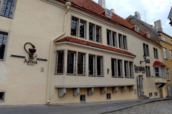 Farmácia da cidade antiga de Tallinn - Estônia