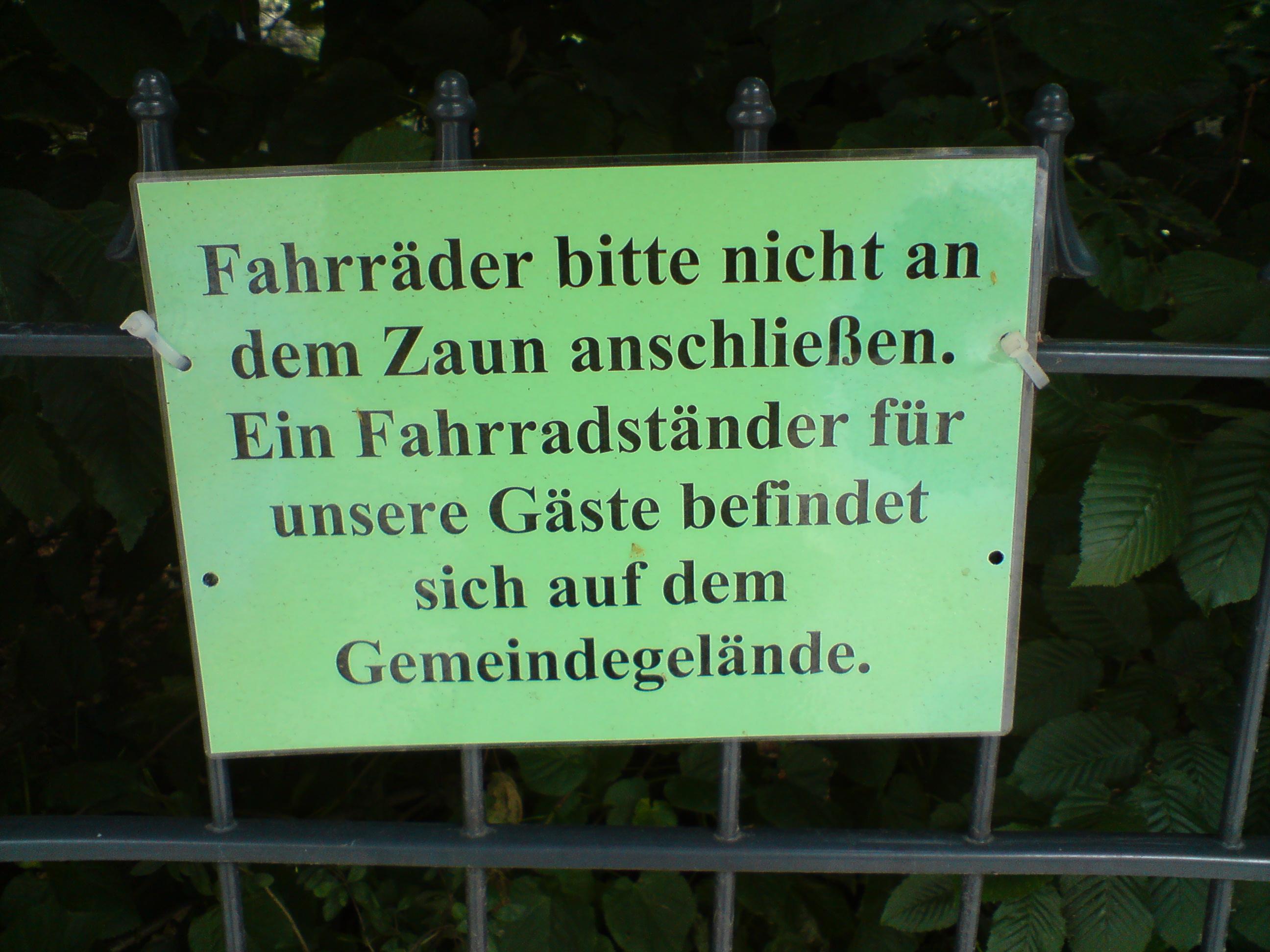 Verbote 2008