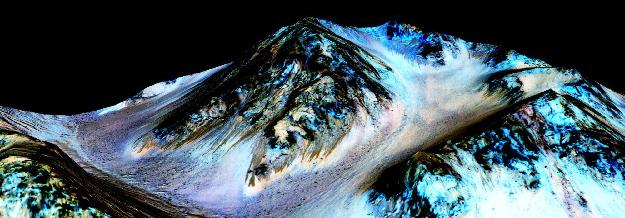 Mars'ta bulunan su hayatın habercisi mi?