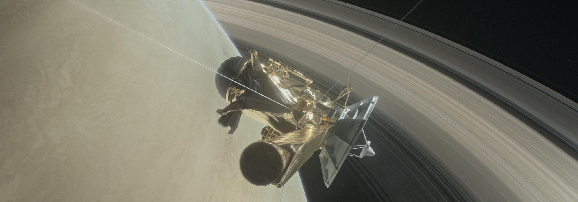 Cassini'nin Satürn Halkalarına Derin Dalışı