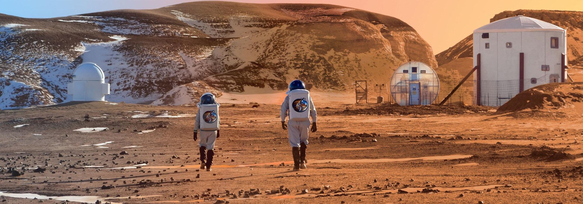 İnsanlık 10 Yıl içinde Mars'a gidebilir mi?