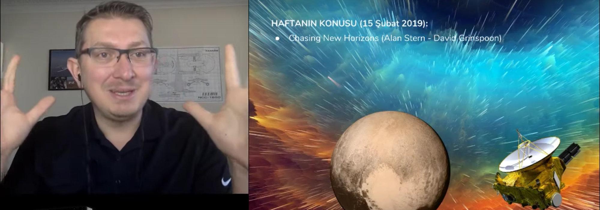 Kitap Kulübü | New Horizons Misyonu – Alan Stern