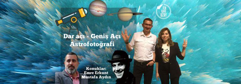 Jüpiter-Satürn kavuştu, dar açı-geniş açı astrofotoğrafi kavuşamadı | Konuklar: Mustafa Aydın & Emre Erkunt