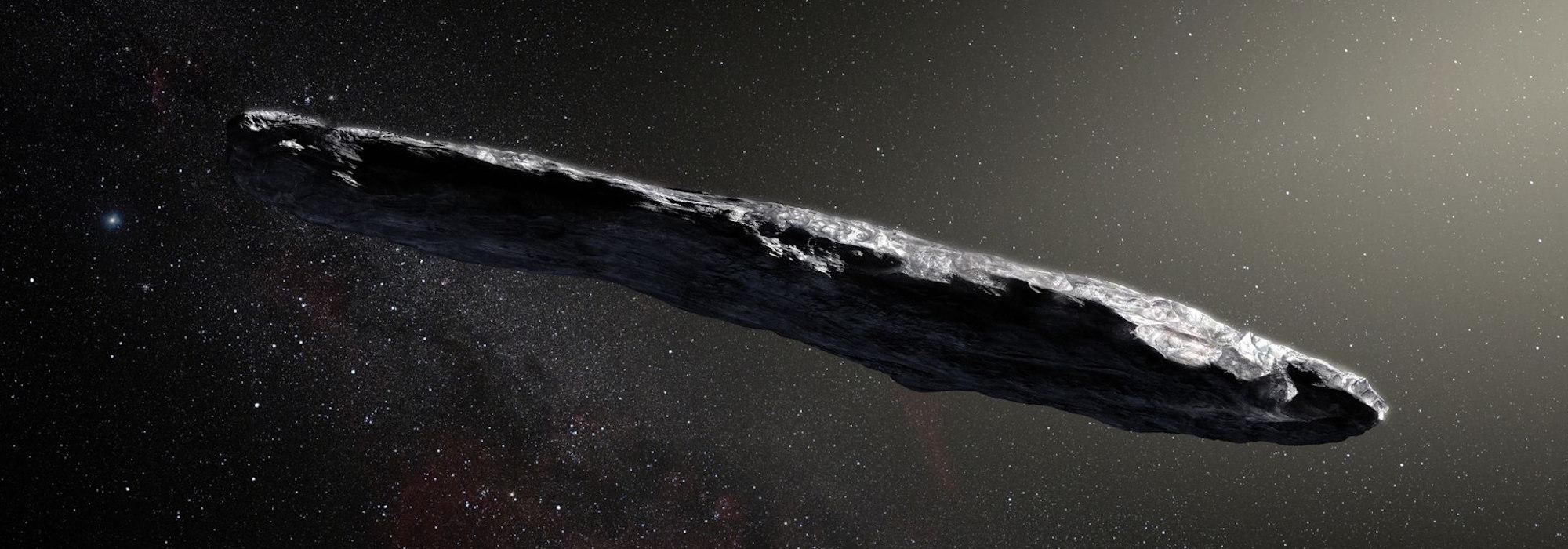 Oumuamua Dünya dışı yaşam kaynaklı mı?
