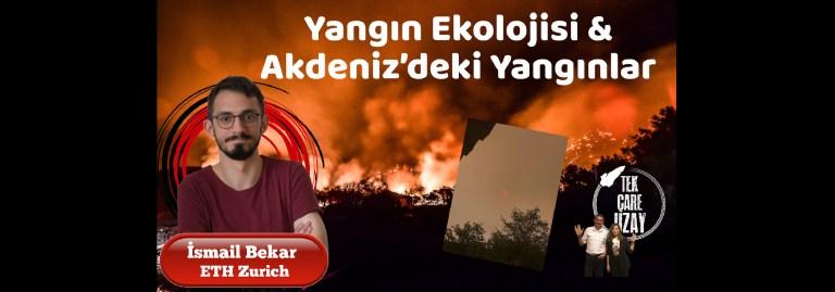 Yangın Ekolojisi ve Akdeniz'deki Yangınlar, Konuk: İsmail Bekar (ETH Zurich) | B092