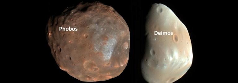 Mars'ın Uyduları Phobos ve Deimos