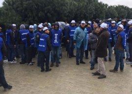 Kale Kayış'ta yaklaşık 150 işçi üretimi durdurdu